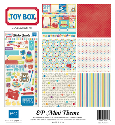 Toy Box Kit Cover