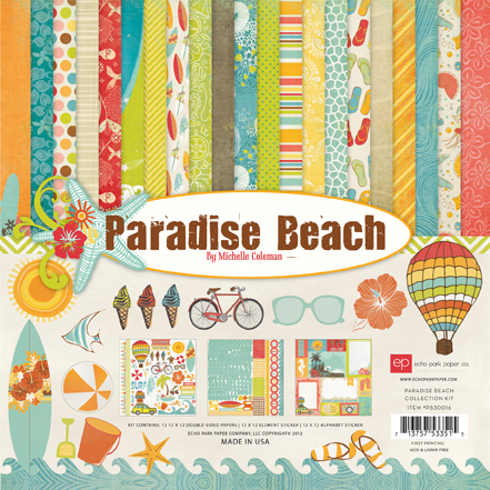 Paradise Beach Kit Cover