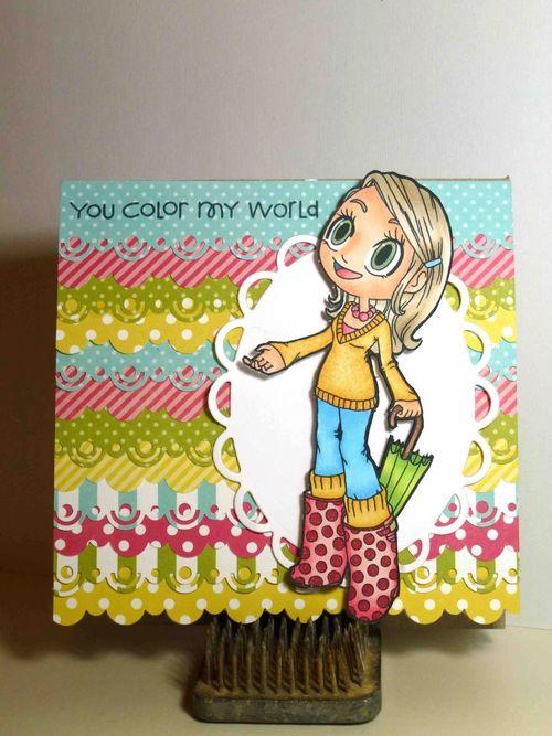 Tara Capewell dots & stripes