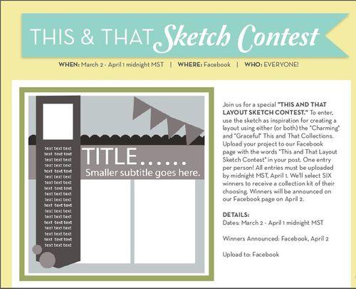 Sketch Contest