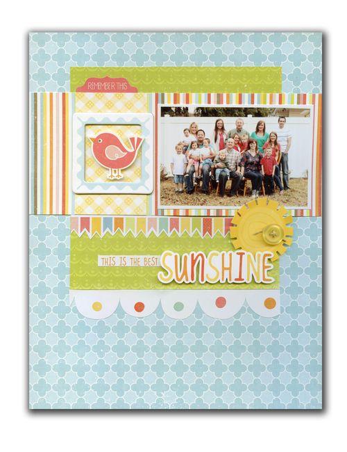 Sunshine layout
