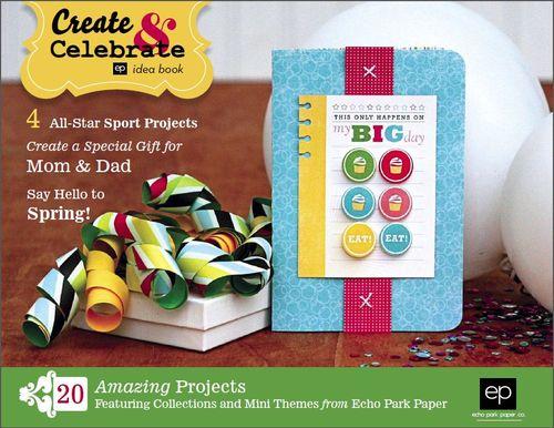 2012 Create & Celebrate Idea Book Cover