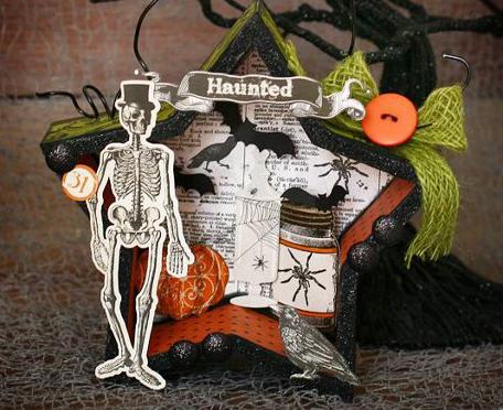 Halloween Ornament Tamara Tripodi