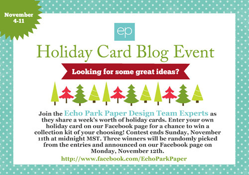 holiday card blog event echo park paper