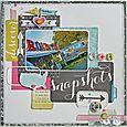 "Snapshots 12x12"" by Susan Stringfellow"