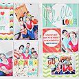 Hello Love Double Page Spread by Wendy Sue Anderson
