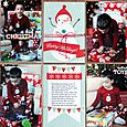 "Happy Holidays 4x6"" Vertical by Nancy Damiano"