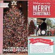 "Merry Christmas 6x12"" by Nancy Damiano"