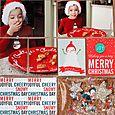 "Merry Christmas 3x4"" by Nancy Damiano"