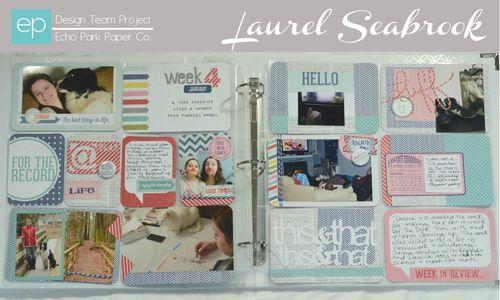 Copy of Laurel Week 4a