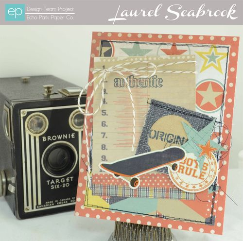 Laurel's Brothers card