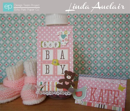 Linda Auclair BOJ hey baby favor set banner sized