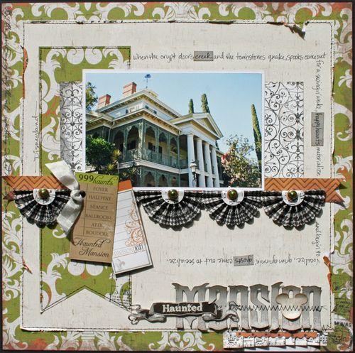 Haunted Mansion Layout Susan Stringfellow