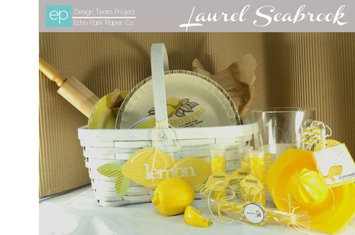Laurel Lemon basket