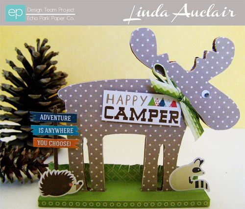 Linda Auclair HC moose decor w banner sized