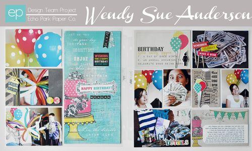 Wendysue_glitz_birthday_pl_spread_with_banner