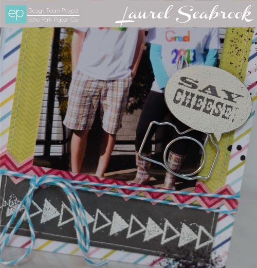 Laurel Here & Now embossing 2