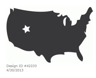 Yellow Submarine US Map