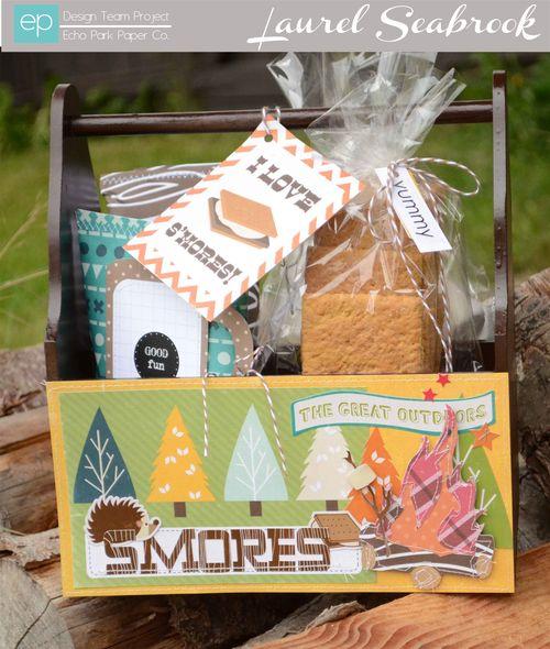 Laurel Happy Camper Smore kit