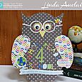 Who Reads for School Owl by Linda Auclair