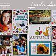 Autumn Photo Freedom Spread by Linda Auclair