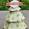 Die Cut Christmas Tree by Wendy Sue Anderson