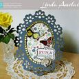 Victorian Frame by Linda Auclair