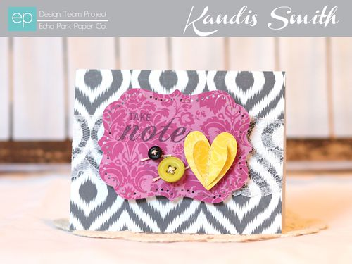 5th avenue card kandis smith setting