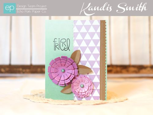 Ombre card kandis smith setting