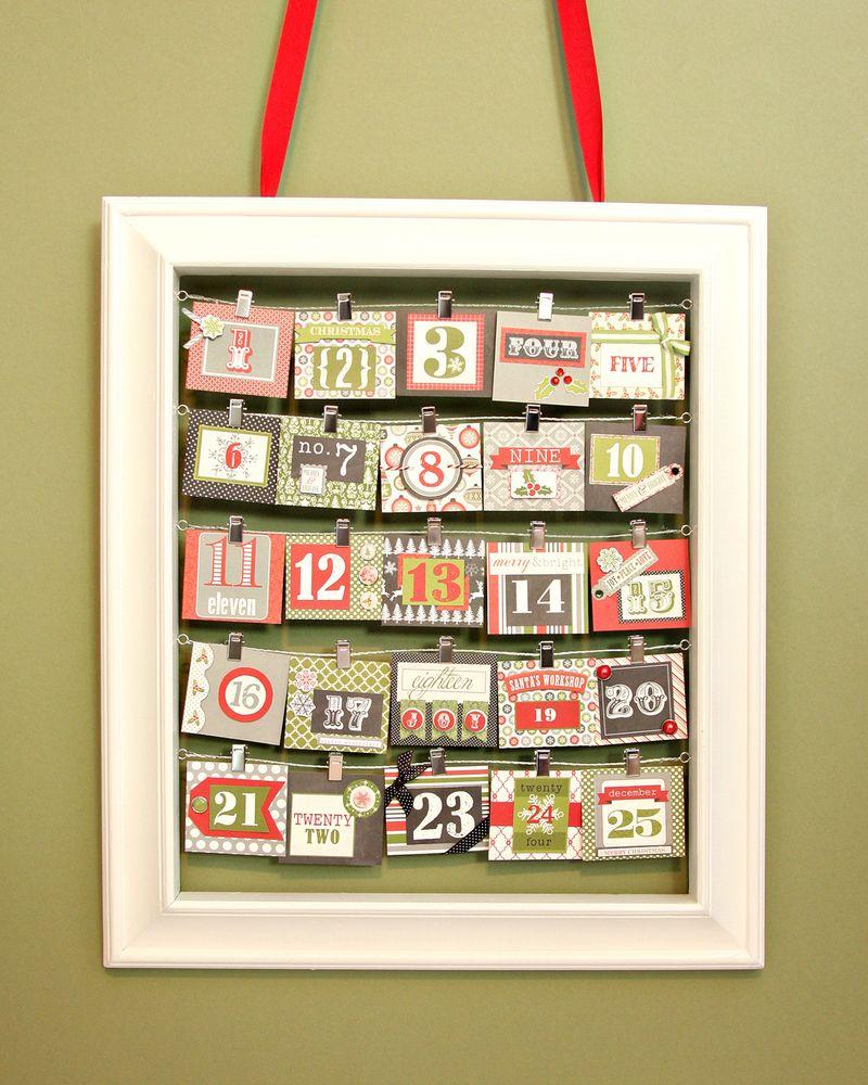 Christmas Countdown Frame Small