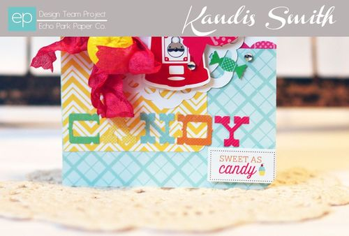 I love candy card kandis smith close up 1