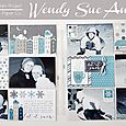 Let It Snow Double Page Spread by Wendy Sue Anderson