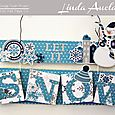 Let It Snow Sign by Linda Auclair