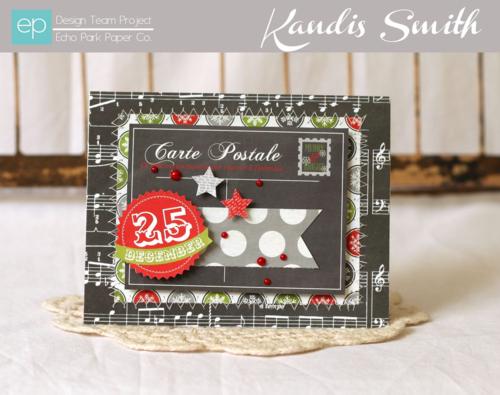 Tis the season card by Kandis smith