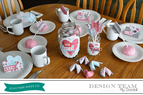 Throwing A Valentine Party With Aly Dosdall Echo Park Paper Ideas
