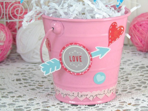 Holly Gagnon Valentines Topiary 5