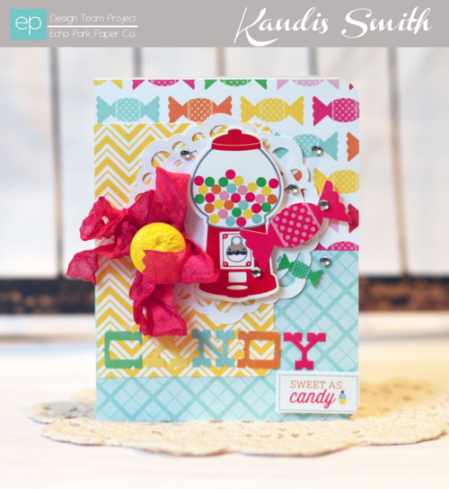 I love candy card kandis smith setting