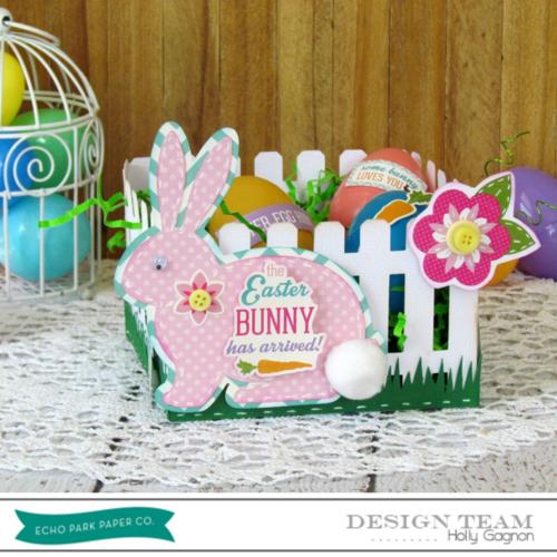 Holly Gagnon Bunny Basket 1