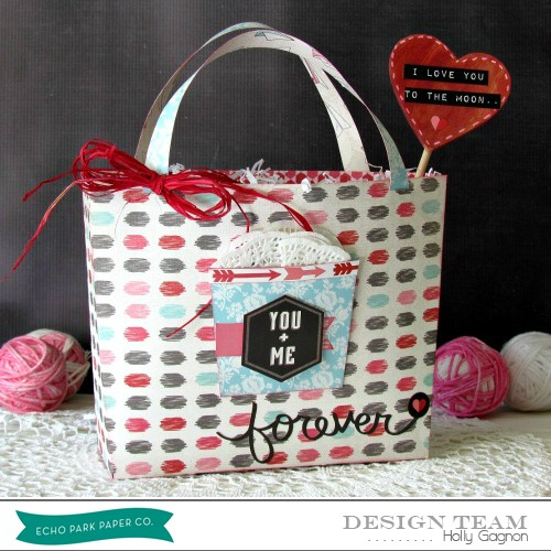 Holly Gagnon Valentines Bag