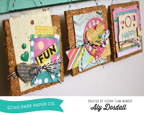 Aly Dosdall Altered Cork Tiles 2