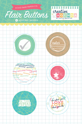 Creative Agenda_Flair Buttons Packaging