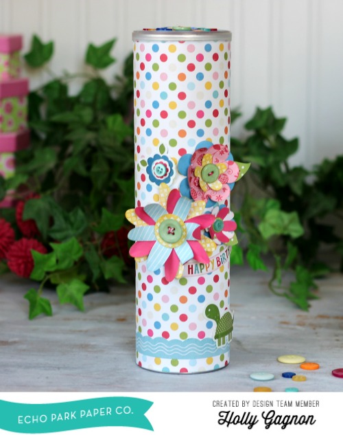 Upcycled Treat Canister