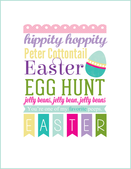 free downloadable easter printable from echo park paper echo park