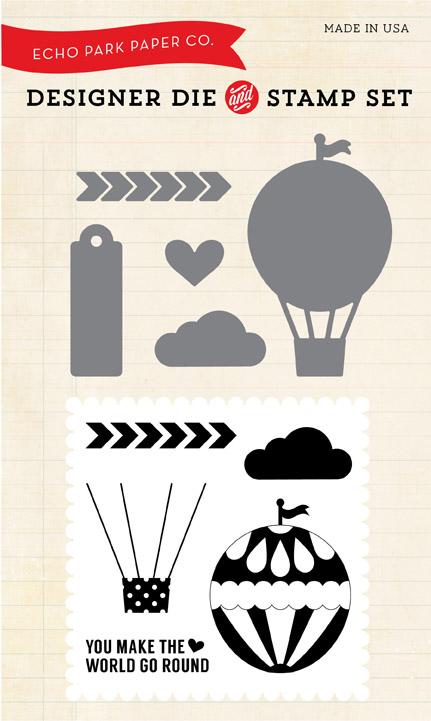 EPDie-Stamp2_Hot Air Balloon Die & Stamp Combo Set