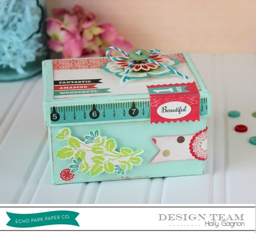 Holly Gagnon Keepsake Box