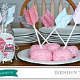 Valentine Party Treat Picks by Aly Dosdall