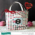 Valentine Gift Bag by Holly Gagnon