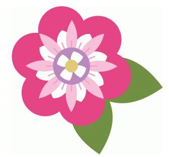 Flower Die Cut Shape by Echo Park Paper