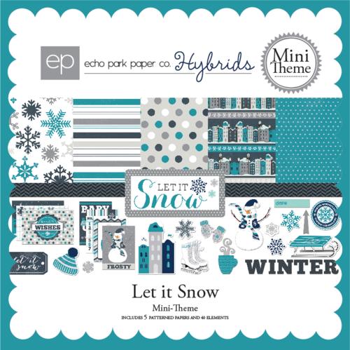 Let It Snow Digital Paper Kit