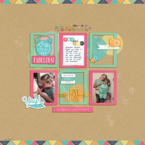 Blogged 9-19-14 -- Rachael Sheedy - Creative Agenda Layout